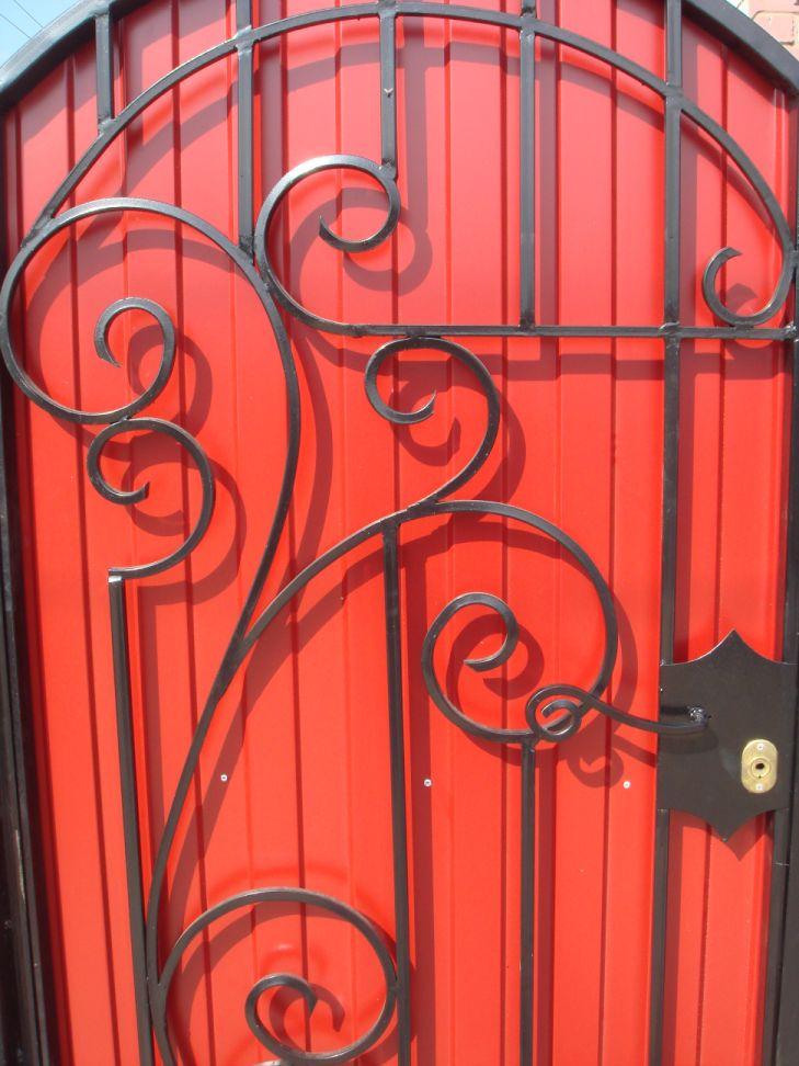 Декоративные элементы ворот и калиток