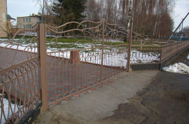 Ворота декоративные